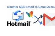 transfer MSN email to Gmail