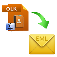 Mac OLK to EML Converter