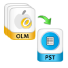 Save OLM into PST