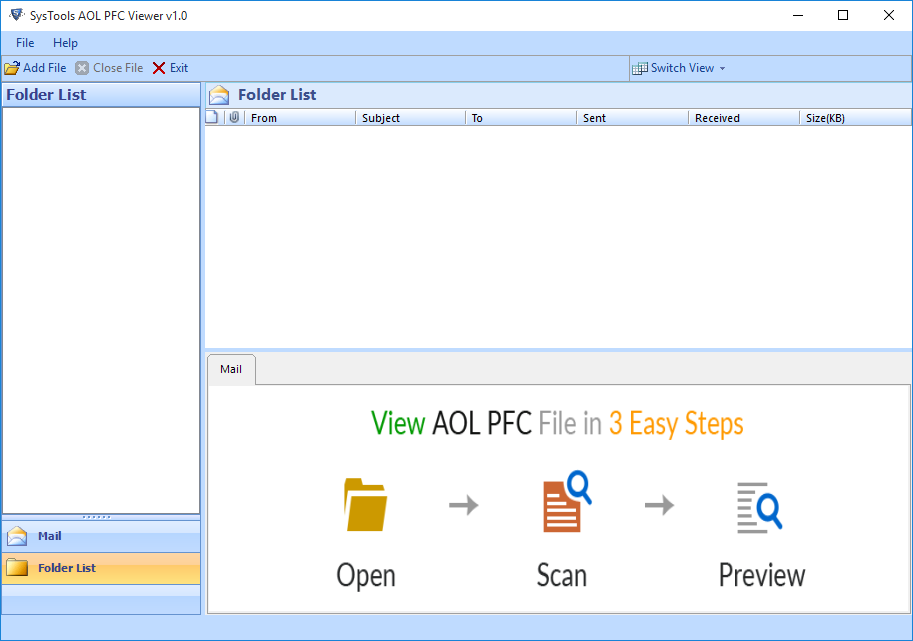 Introduction AOL Email Viewer