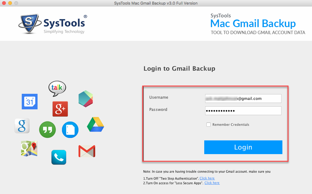 Tool to Export Gmail Backup Data
