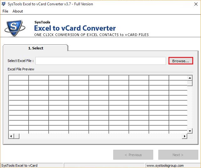 Vcard to vcf converter